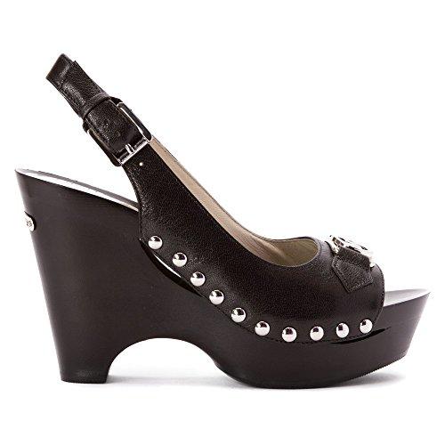 8ca066c8123ce hot sale Michael Kors Women s Charm Sling Black Leather Platform Pumps 7 B(M )