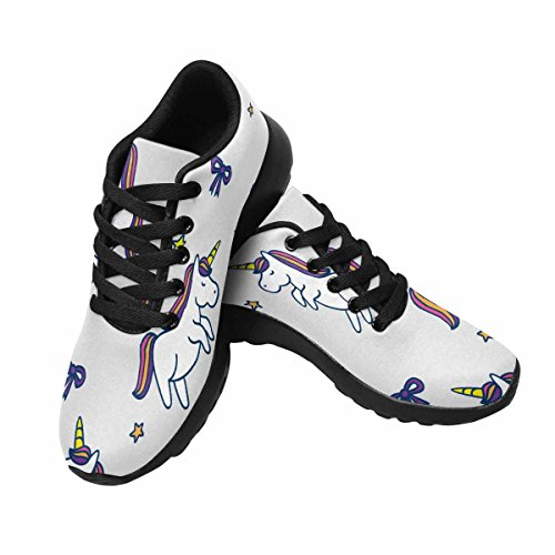 InterestPrint Womens Jogging Running Sneaker Lightweight Go Easy Walking Comfort Sports Running Shoes Multi 2 npNsN