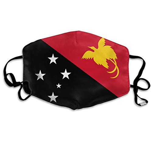 OHMYCOLOR Papua New Guinea Flag Face Mouth Mask Unisex Fashion Breathable Anti-Dust Polyester Healthy Masks