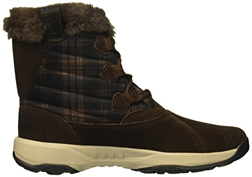 Women's Chocolate Boot Skechers Outdoors Go Walk Crest Winter qxd6UP