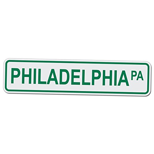 Philadelphia Phillies Parking - Philadelphia PA - Novelty Street Sign - 17 Inches Tall by 4 Inches Wide Aluminum Sign ...