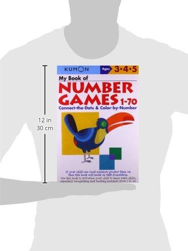 Amazon.com: My Book Of Number Games 1-70 (Kumon Workbooks ...