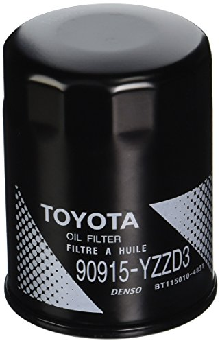 Toyota Genuine Parts 90915-YZZD3 Oil Filter 1/2 Case (QTY 5)