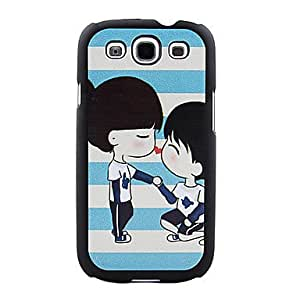 NEW Sweet Couple Pattern Hard Case for Samsung Galaxy S3 I9300