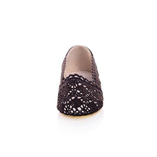 artesanales Gancho Sandalias Sandalias Calzado Brown Sandalia con Mujer Plano Grandes Verano de para Mujer Chica Flores de Pulsera Tejer wqRwWx74zp