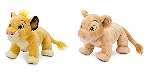 Disney The Lion King Simba & Nala 11'' Plush Toy Set by Disney