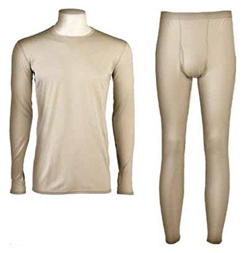 (ECWCS Gen 3 Level 1 Light-weight Undershirt & Drawers Set - Medium-Regular )
