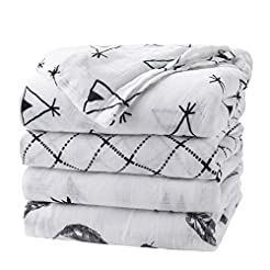 upsimples Baby Swaddle Blanket Unisex Sw...