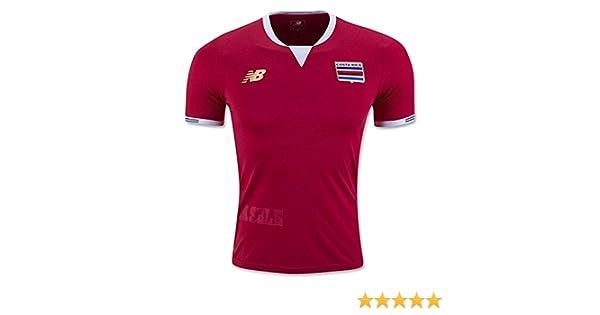 Amazon.com: Costa Rica Home Soccer Jersey Copa America Centenario 2016 (S): Clothing