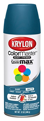 Colormaster Indoor/Outdoor Aerosol Paint 12Oz-Surf