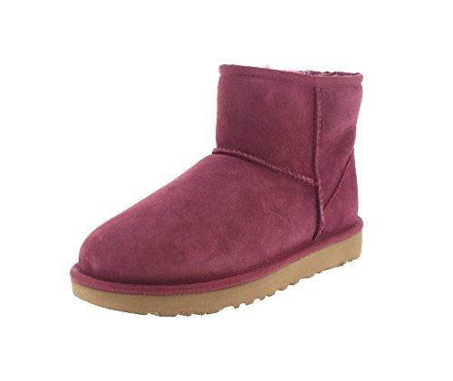 UGG Australia Mini Classic Leather, Zapatillas Altas para Mujer bougainvillea