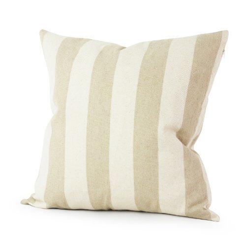 Lavievert Decorative Ramie Cotton Square Throw Pillow Cover