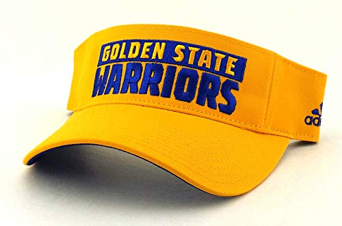 adidas Golden State Warriors Adjustable Visor d5f0f5cc61ba