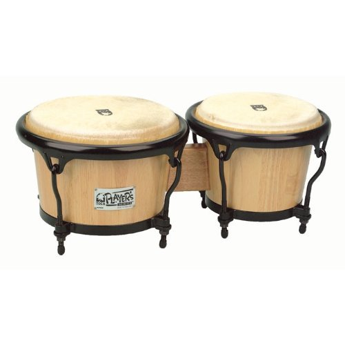 Toca 2400N Player's Series Wood Bongos - Natural Finish Toca Wood