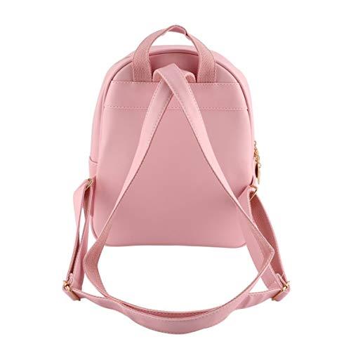 sac fourre portefeuille 4pcs sac bandoulière carte à à ours main sac sac à main tout décoration sac avec poupée glands à mode dos femmes EqvURBv