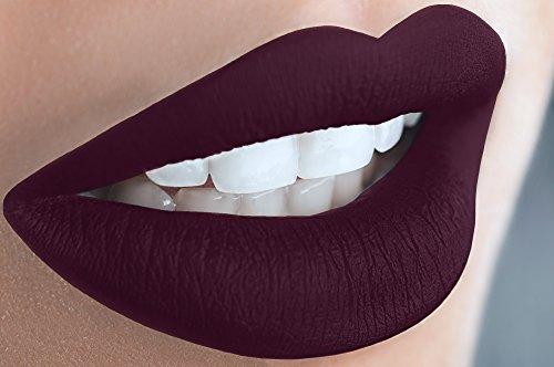 Liquid Matte Lipstick Long Lasting Mineral Formula - Violet (Matte Semi Violet)