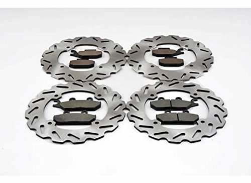 Can-Am Maverick Max 1000R 4x4 XRS DPS Front and Rear Sport Brake Rotors and Pads