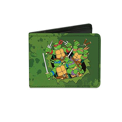 ninja turtle bifold wallet - 5
