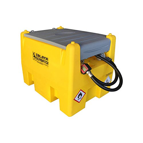Fuel Caddy (Carrytank 58 Gallon Fuel Container with Electric Pump)