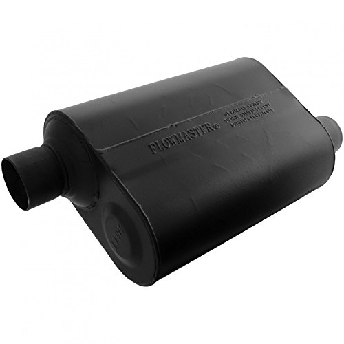 Flowmaster 952548 Super 40 Muffler - 2.50 Offset IN / 2.50 Offset OUT - Aggressive -