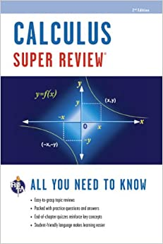 Book Calculus Super Review, Second Edition (Super Reviews Study Guides)