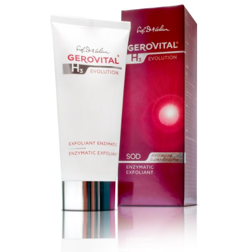GEROVITAL H3 EVOLUTION, Enzymatic Exfoliant with Superoxide Dismutase (The Anti-Aging Super-Enzyme) 30+