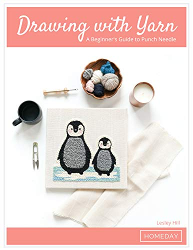 - Drawing with Yarn: A Beginner's Guide to Punch Needle