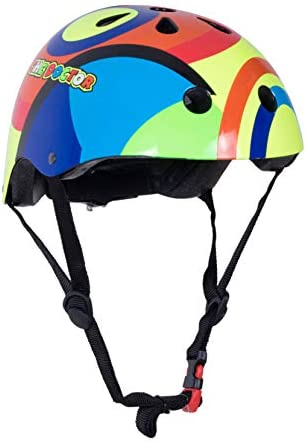 Kiddimoto Heroes Helmet with Dial Adjustment for Kids Children Boys and Girls Small and Medium