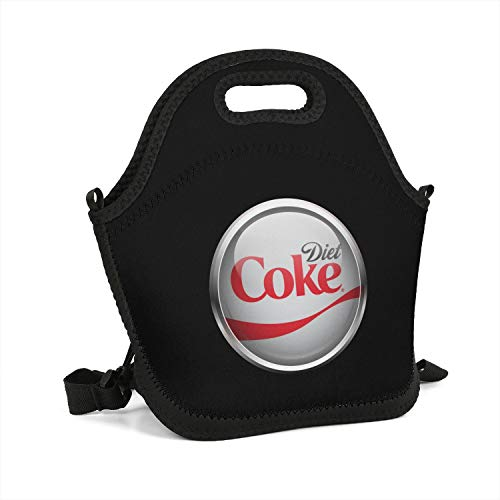 VULIOAEN Diet Coke 3D Lunch Box School Containers Zipper Fashionable Bag Women's (Best Food At Mcdonalds For Diet)