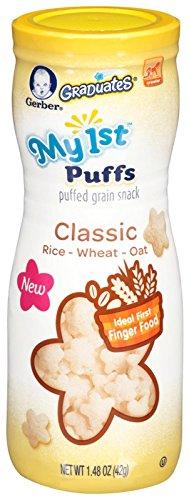 Gerber Graduates My 1st Puffs Grain Snack Classic