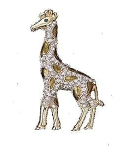 Giraffe Crystal Pin