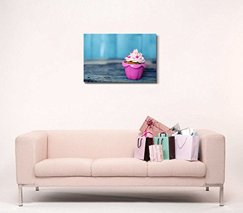 Cute Pink Cupcake Wall Decor