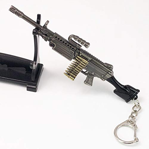 1 Pc Bullet Weapon Machine Gun Keyring Pendant Women Wrist Wristlet Keys Hook Key Chain Tip-top Popular Pocket Teenagers Bag Car Keychains]()