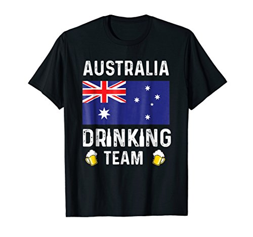 Australia Beer (Australia Drinking Team T-shirt Australia Beer Lovers Tshirt)