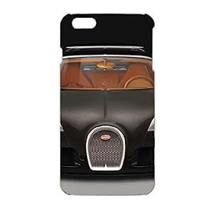 3D Bugatti Car Flag Phone Case Attractive Design Protective Case Snap on Iphone 6 Plus/6s Plus (5.5 inch) Bugatti Series