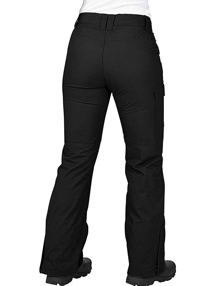 Womens Snow Pants Waterproof Insulated Snowboard Cargo Pants Women Womens Cargo Snow Pants
