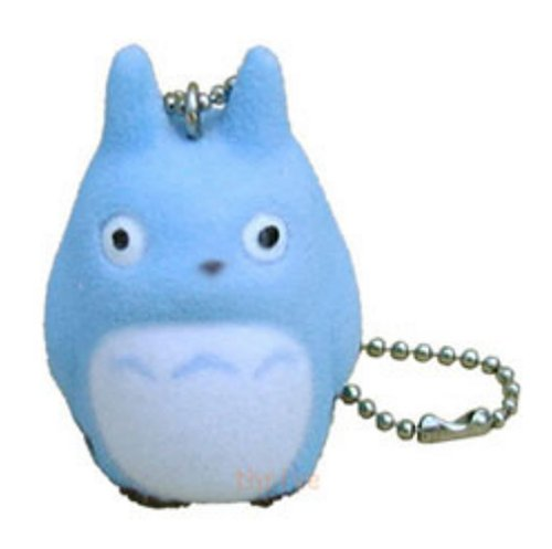 Studio Ghibli My Neighbor Totoro Flocking Doll Cell Phone Strap (Chu Totoro) (Totoro Phone Strap)