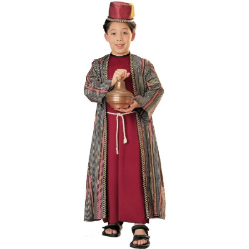 Three Wise Men Child Costume Balthazar (red with