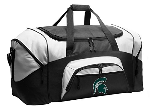 Broad Bay Michigan State Duffel Bag Michigan State University Gym Bags or Suitcase by Broad Bay
