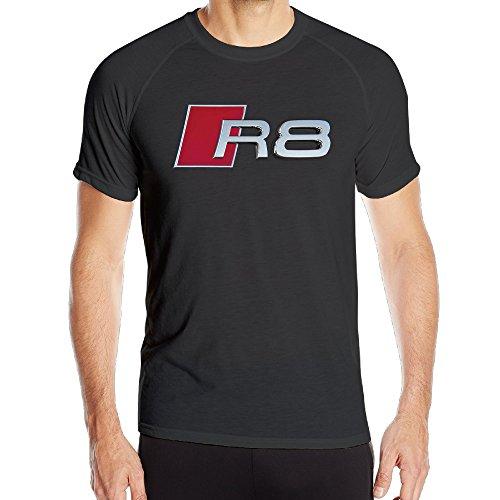 MESTT Audi R8 Logo Men's Sportswear Quick Dry Short-Sleeve T-Shirt (Ferrari Car Pic compare prices)