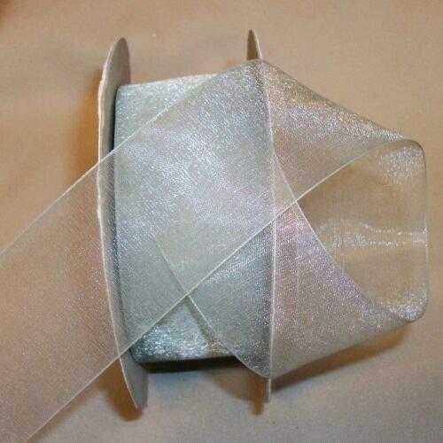 - Ribbon Art Craft Decoration 10 Yds Sheer Willow Lady Chiffon Ribbon 1 1/2