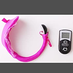 "10 Speed Wireless Remote Control Self Pleasure For Women ""C"" Panty Remove Design J1986#D1"