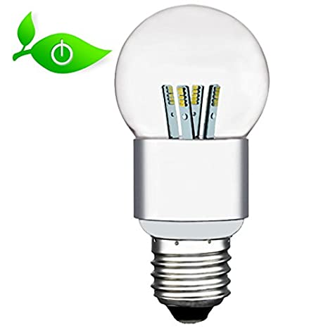 Bombilla LED luz blanca neutra transparente 5 W modern 400 lumens,{4500} Kelvin E27: Amazon.es: Iluminación