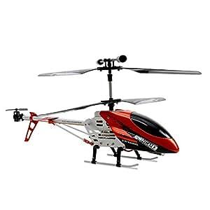 Takira LS-209 RC Helicóptero RC radio control remoto (Alcance 30 metros, giroscopio, estable chasis, luz, función turbo, a partir de 14 años)