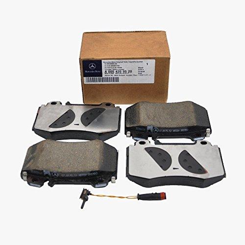 Mercedes-Benz Front Brake Pads Pad Set Genuine OE 0059520 +Sensor (VIN#REQUIRED)