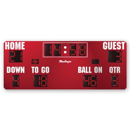 MacGregor Baseball Conversion Kit for the 8' x 20' Football Scoreboard