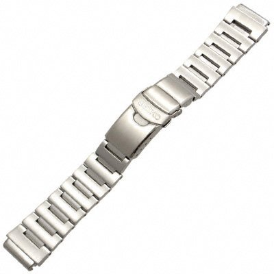 Seiko Steel Watchband For Monster Watch. Genuine Seiko Watch Band 20mm. (Qc Mall)