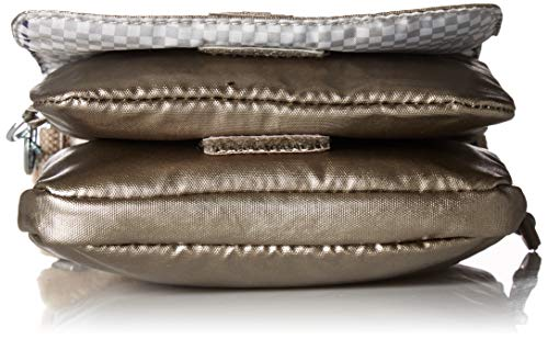 Travel Bag Pewter Pewter Dorado Metallic El Crossbody Essential Kipling Metallic IwHx0