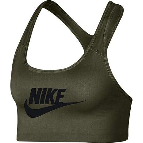 Nike Swoosh Futura Sujetador Deportivo, Mujer: Amazon.es: Ropa y ...