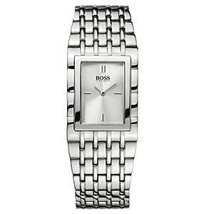 Hugo Boss 1502181 - Reloj de mujer de cuarzo, correa de acero inoxidable color plata